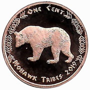 1 Cent (Mohawk tribes) – obverse