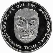 1 Dime (Mohawk tribes) – obverse