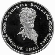 Quarter Dollar (Mohawk tribes) – obverse