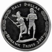 ½ Dollar (Mohawk tribes) – obverse