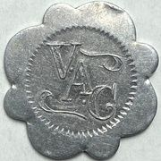 25 Cents - Vancouver Athletic Club (Vancouver, British Columbia) – obverse