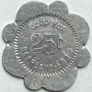 25 Cents - Vancouver Athletic Club (Vancouver, British Columbia) – reverse