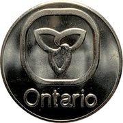 Token - Ontario – obverse