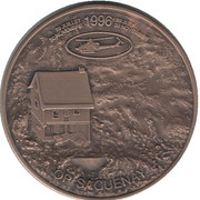 1 Lys - Saguenay 1996 (Quebec) – obverse