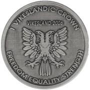 1 Vikeslandic Crown (Kingdom of Vikesland) – obverse