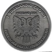 1 Vikeslandic Crown (Kingdom of Vikesland) – reverse