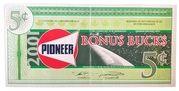 5 Cents - Pioneer Bonus Bucks – obverse