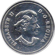 1 Dollar - Elizabeth II (First French settlement in America) – obverse