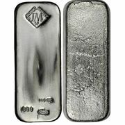 100 oz Silver Johnson Matthey – obverse