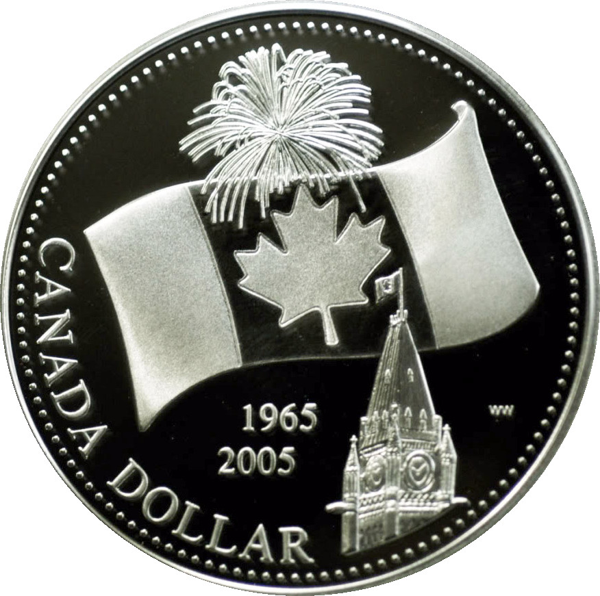 2005 Canada Proof Loonie