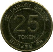 25 Cents - HQ Laundry System – obverse