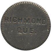 Medal - L.M.D. (Richmond, Quebec) – reverse