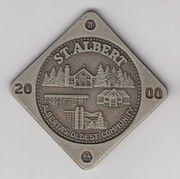 2000 Cents - St. Albert, Alberta – reverse