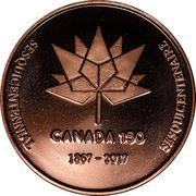 Medal - Saint John Coin Club 2017 – obverse