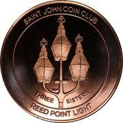 Medal - Saint John Coin Club 2017 – reverse