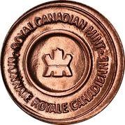 Mint Token - RCM RCNA Edmonton Alberta – obverse