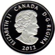 4 Dollars - Elizabeth II (War of 1812; Sir Isaac Brock) -  obverse