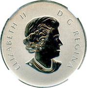 10 Dollars - Elizabeth II (Year of the Snake) -  obverse