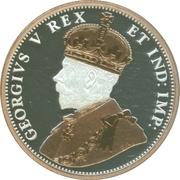 1 Cent - Elizabeth II (Small leaves design - 1911) – obverse