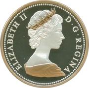 1 Cent - Elizabeth II (Centennial design - 1967) – obverse