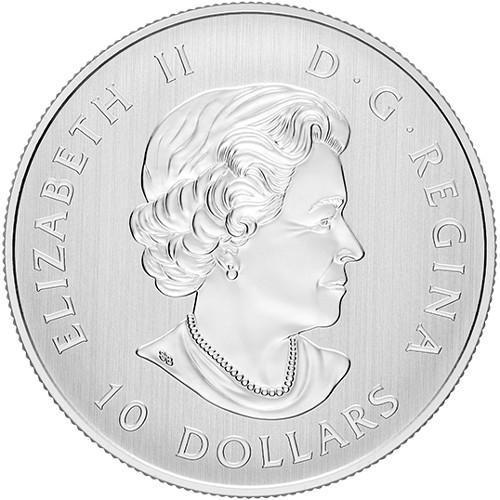 Prefix CDA UNC First prefix letter 2017 Canada 150-10 Dollar Polymer