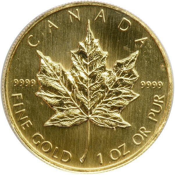 50 Dollars Elizabeth Ii 3rd Portrait 1 Oz Gold