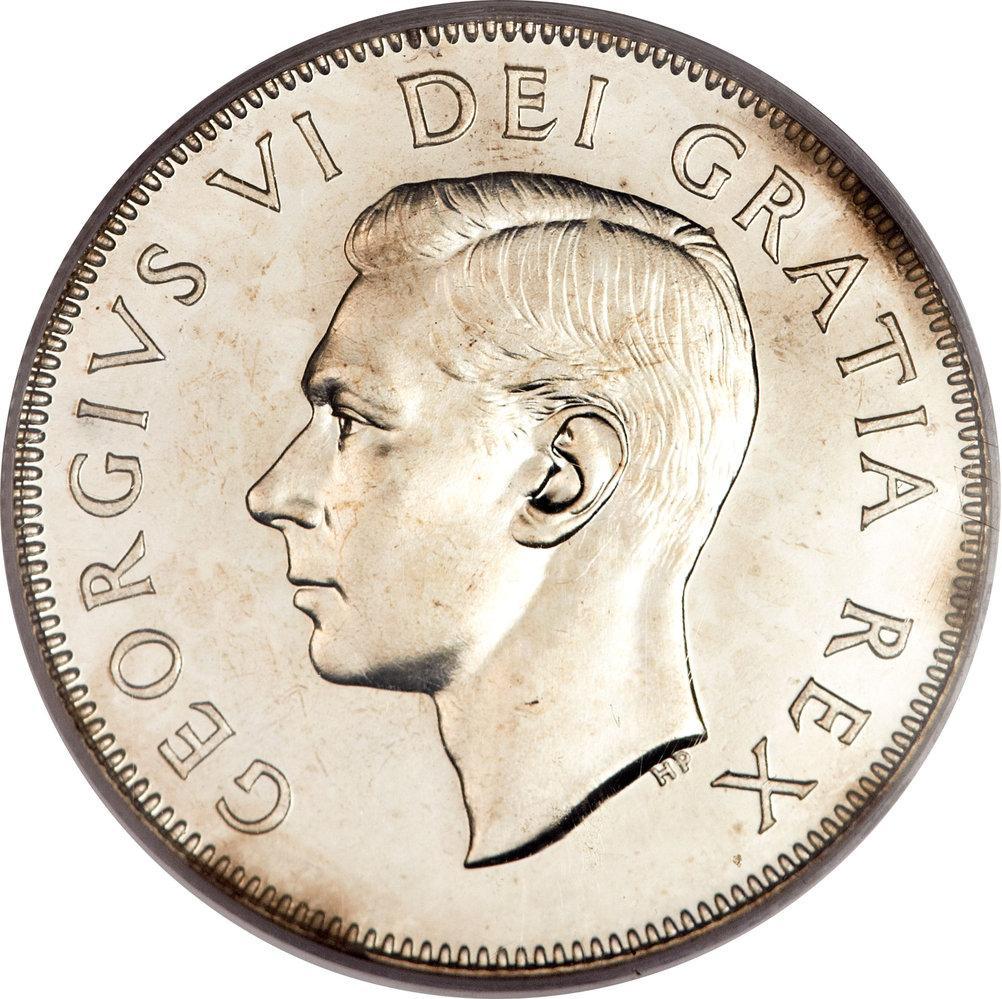50 Cents - George VI - Canada – Numista