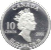 10 Cents - Elizabeth II (Year of Volunteers) -  obverse