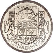 50 Cents - George VI -  reverse
