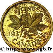 1 Cent - George VI (Pattern strike) – reverse