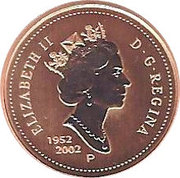 1 Cent - Elizabeth II (Golden Jubilee; Specimen sets) – obverse