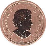 1 Cent - Elizabeth II (4th portrait; Specimen sets) – obverse