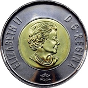 2 Dollars - Elizabeth II (Dance of The Spirits) -  obverse