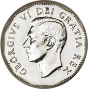 5 Cents - George VI -  obverse