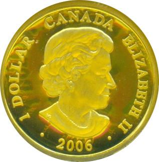 1 Dollar Elizabeth Ii Gold Louis Canada Numista