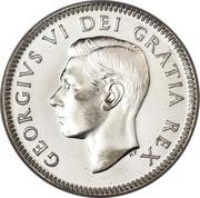 10 Cents - George VI (w/o IND:IMP:) -  obverse