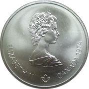 10 Dollars - Elizabeth II (Head of Zeus) -  obverse