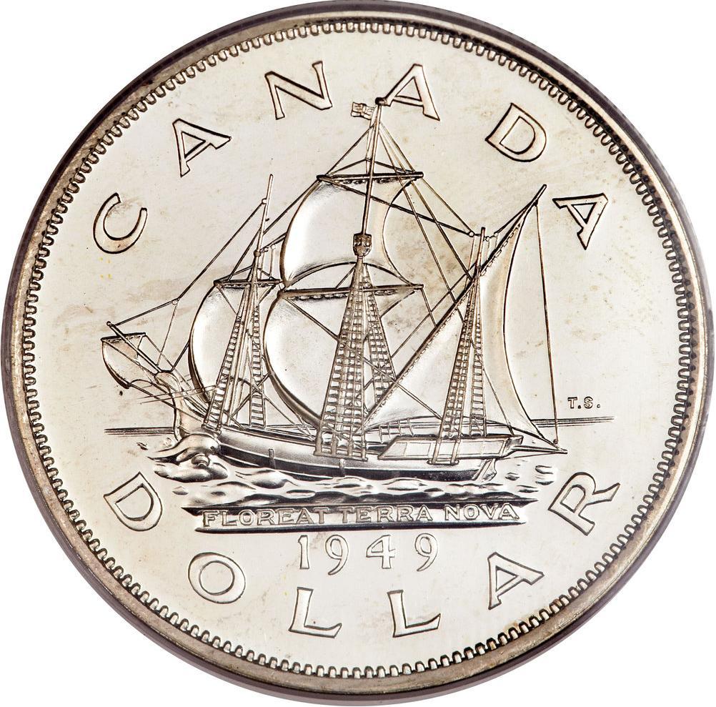 1 Dollar - George VI (Welcome Newfoundland) - Canada – Numista