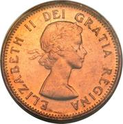 1 Cent - Elizabeth II (1st portrait) -  obverse