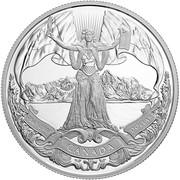 1 Dollar - Elizabeth II (150th Confederation) -  obverse
