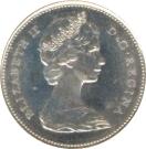 25 Cents - Elizabeth II (2nd portrait, Silver) -  obverse