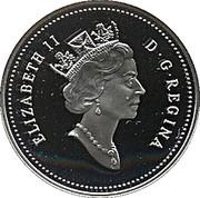 50 Cents - Elizabeth II (Blue Whale) -  obverse