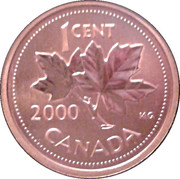 1 Cent - Elizabeth II (Specimen sets; bronze) – reverse