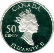 50 Cents - Elizabeth II (Calgary Stampede) -  obverse