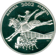 50 Cents - Elizabeth II (Calgary Stampede) -  reverse