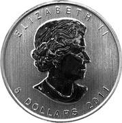 5 Dollars - Elizabeth II (Grizzly Bear) -  obverse