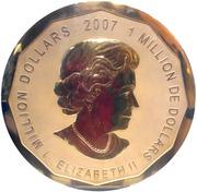 1 000 000 Dollars - Elizabeth II (Maple Leaf) -  obverse