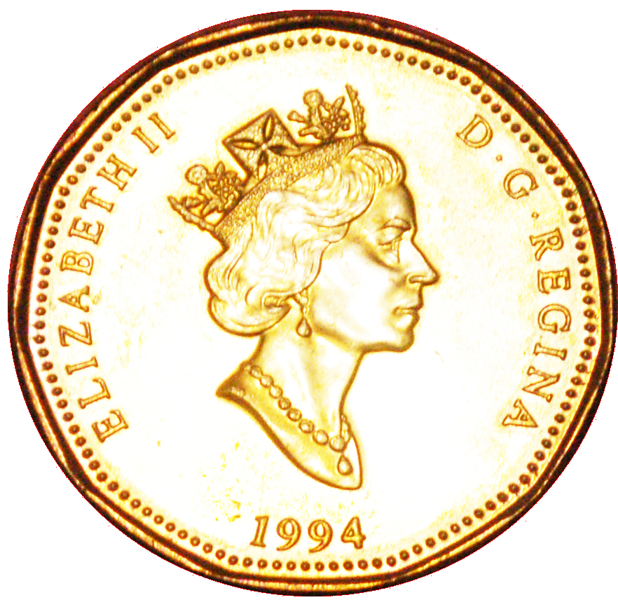 CANADA 1994 LOONIE BRILLIANT UNCIRCULATED DOLLAR