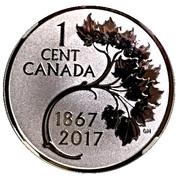1 Cent - Elizabeth II (The Forgotten 1927 Designs - Cent) – reverse