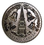 25 Cents - Elizabeth II (The Forgotten 1927 Designs - 25 Cents) -  obverse